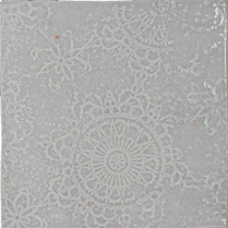Craft Light Grey Glossy Decor 12.5x12.5
